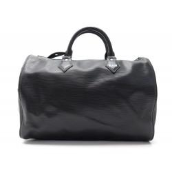 SAC A MAIN LOUIS VUITTON SPEEDY 30 M59222 CUIR EPI NOIR LEATHER HAND BAG 1220€