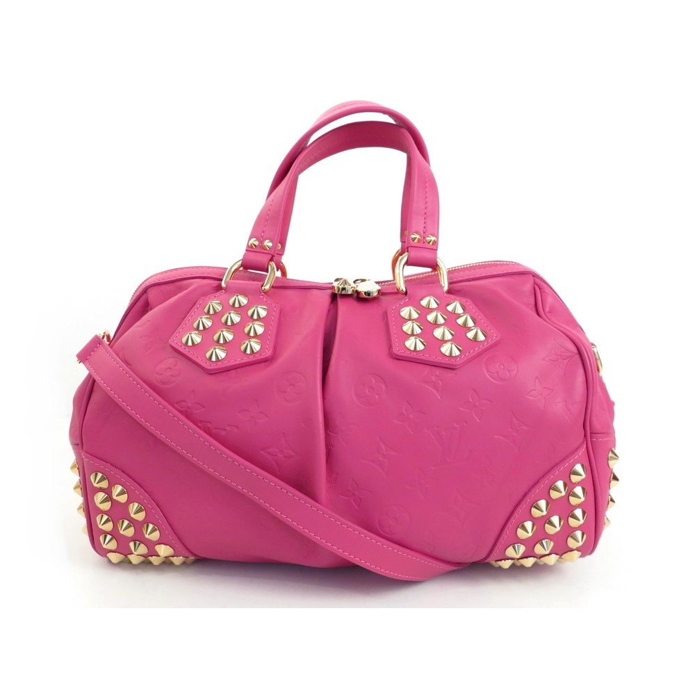 c718e560d1 NEUF SAC A MAIN LOUIS VUITTON FUCHSIA COURTNEY MM EMBOSSE + ACCROCHE PURSE  3000€. Loading zoom