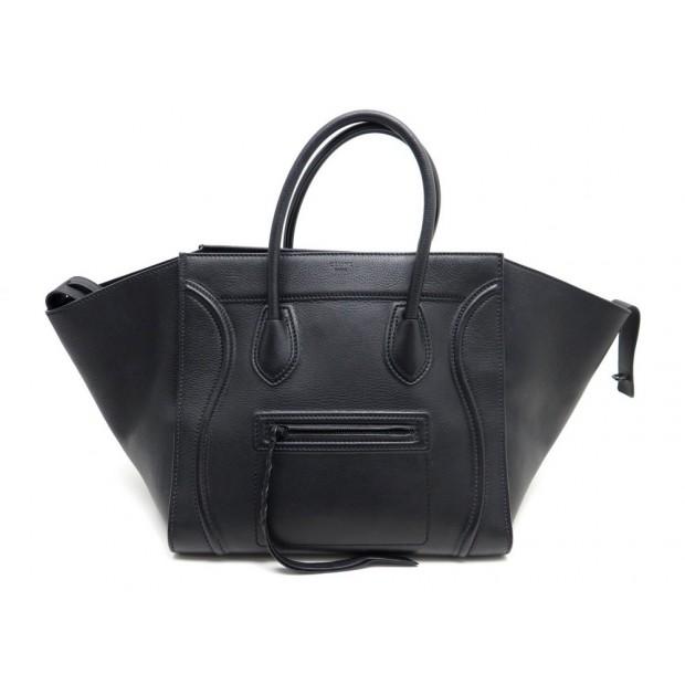bas prix dbaea 7ec1b sac a main celine luggage phantom medium cabas en cuir