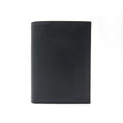 NEUF PORTEFEUILLE LANCEL A03141 8CC EN CUIR NOIR + BOITE PORTE CARTE WALLET 215€