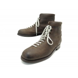 NEUF CHAUSSURES JM WESTON COUNTRY GENTS HICKING BOOTS 132 10D 44 CUIR SUEDE 890€