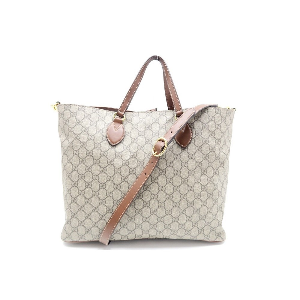 SAC A MAIN GUCCI CABAS SUPREME GG 453705 TOILE BANDOULIERE BAG PURSE DUSTAG  980€. Loading zoom 0fb8f41a25c
