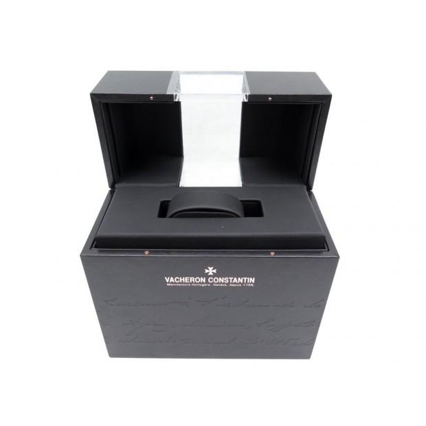 NEUF BOITE MONTRE VACHERON CONSTANTIN PATRIMONY BOIS NOIR + SUR-BOITE WATCH BOX