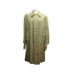 VINTAGE TRENCH BURBERRY MANTEAU T50 XL EN COTON BEIGE COTTON COAT 1500€