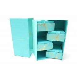 COLLECTOR COFFRET TIFFANY & CO BOITES A BIJOUX EN CARTON BLEU JEWEL BOX CASE