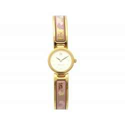 MONTRE FREY WILLE PICCADILLY CIRCUS QUARTZ 22 MM EMAIL & PLAQUE OR WATCH 2260€