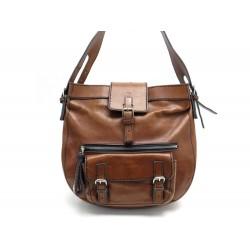 SAC A MAIN CHLOE EDITH HOBO EN CUIR MARRON BROWN LEATHER HAND BAG PURSE 1600€