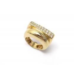 BAGUE FRED SUCCESS MOYEN MODELE 4B0172 T54 OR JAUNE & DIAMANTS GOLD RING 6880€