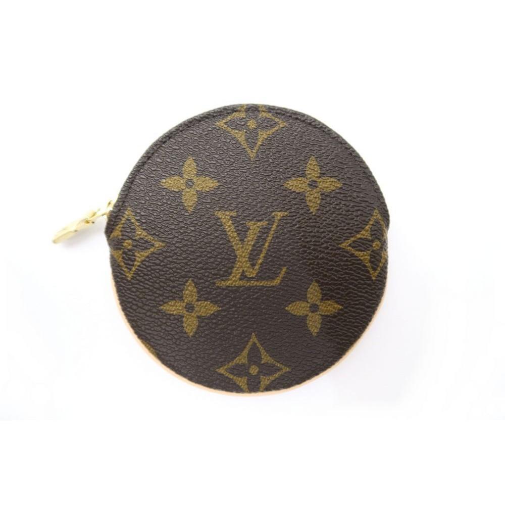 8e555bb26f4 NEUF PORTE MONNAIE ROND LOUIS VUITTON MONOGRAM M61926 EN TOILE COINS PURSE  175€. Loading zoom