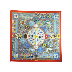NEUF RARE FOULARD HERMES COLLECTIONS IMPERIALES BASCHET CARRE 90 SOIE SILK SCARF