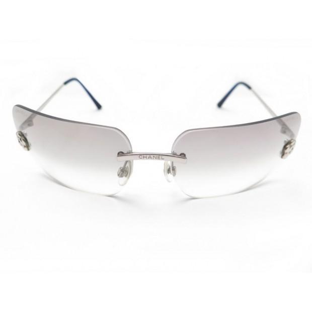 1dded40517814 lunettes de soleil chanel 4085 en acier camelia femme