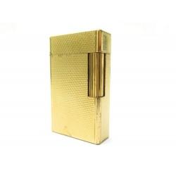 BRIQUET ST DUPONT LIGNE 2 GUILLOCHE 0495940 PLAQUE OR DORE GOLDEN LIGHTER 790€
