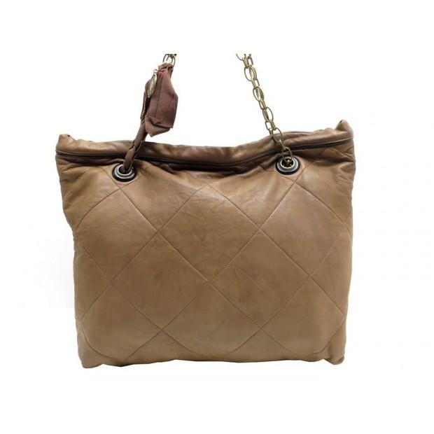 SAC A MAIN LANVIN AMALIA CABAS SHOPPING TOTE 38 CM EN CUIR HAND BAG PURSE 1160€