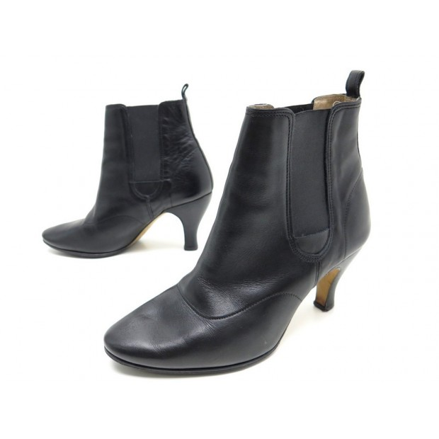 CHAUSSURES BOTTINES REPETTO CUIR NOIR