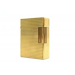 BRIQUET ST DUPONT LIGNE 2 POINTE DE MICRODIAMANT PM C18692 PLAQUE OR +BOITE 750€