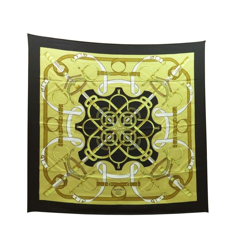 9f927cedaea5 foulard hermes eperon d or henri d origny carre en