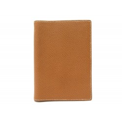 NEUF VINTAGE COUVERTURE AGENDA HERMES SIMPLE PM CUIR EPSOM GOLD DIARY COVER 269€