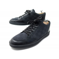 CHAUSSURES LOUIS VUITTON BASKETS MATCH-UP DAMIER GRAPHITE 41 7 SNEAKERS 570€