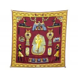 VINTAGE FOULARD HERMES TUTANKHAMUN TOUTANKHAMON EGYPTE CARRE 1976 SCARF 385€