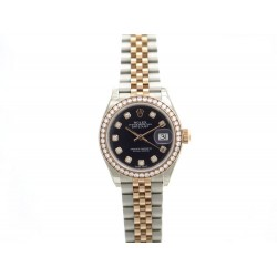 NEUF MONTRE ROLEX OYSTER PERPETUAL DATEJUST 279381RBR OR ACIER DIAMANTS 18700€