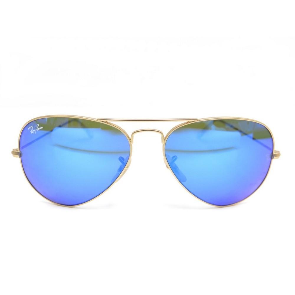 lunette ray ban homme verre bleu