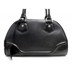 SAC A MAIN LOUIS VUITTON MONTAIGNE PM EN CUIR EPI NOIR + BOITE HAND BAG 1350€