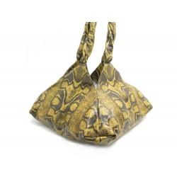 NEUF SAC A MAIN GIVENCHY PYRAMIDAL BALLE CUIR FACON PYTHON NEW HAND BAG 1890€