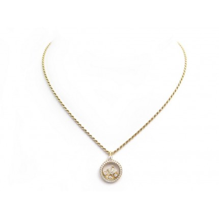 COLLIER CHOPARD HAPPY DIAMONDS ETOILE DE MER OR DIAMANTS STARFISH NECKLACE 9800€