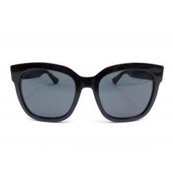 LUNETTES DE SOLEIL GUCCI GG0034S EN RESINE NOIR + ETUI BLACK SUNGLASSES 270€