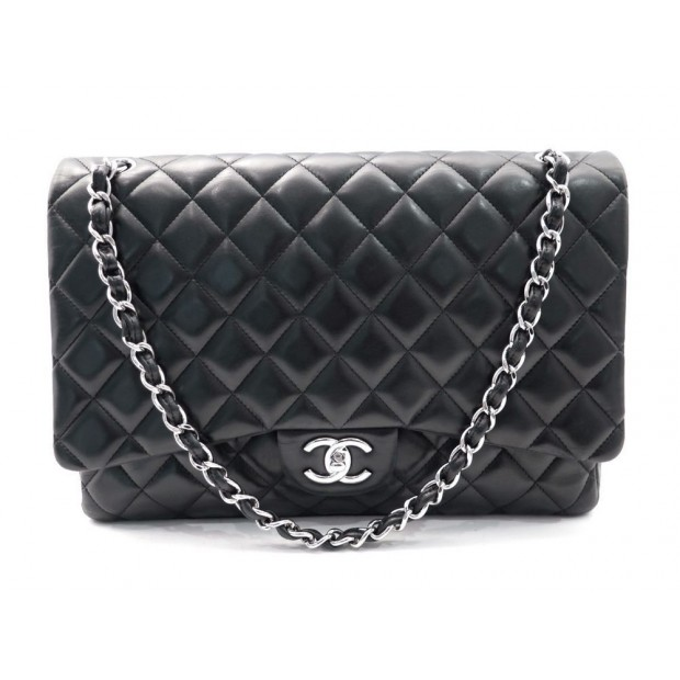 Sac Main Chanel Timeless 2 55 Maxi Jumbo En Cuir