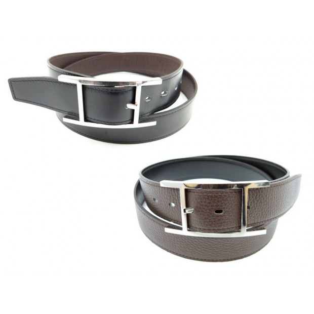 ceinture hermes quentin t 95 reversible cuir togo 61597353231