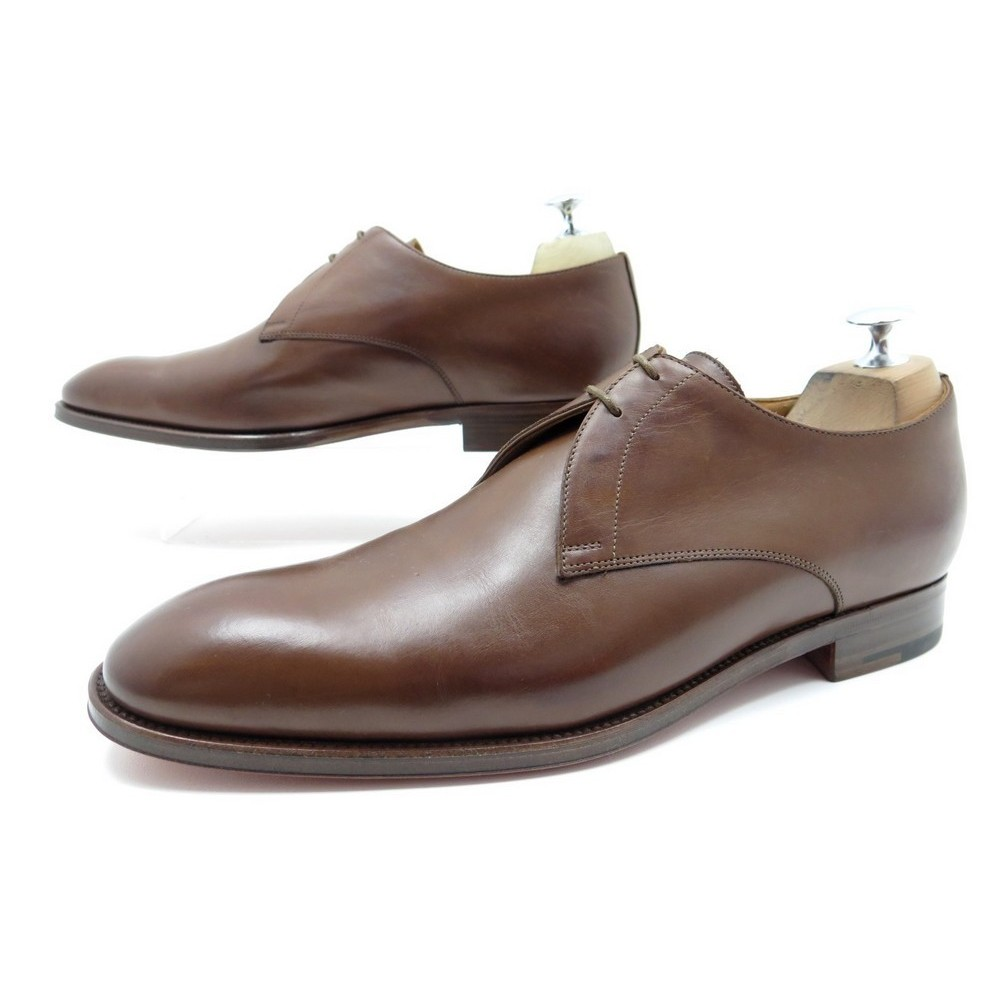 c4ff0fb423b chaussures hermes derby 42.5 homme cuir marron