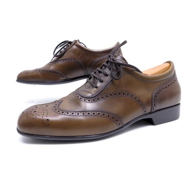 chaussures jm weston richelieu 607 8.5e 42.5 cuir a5eb840de4c