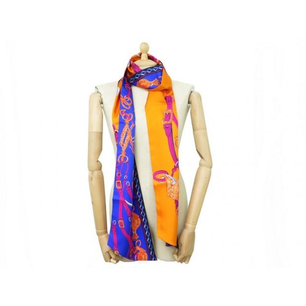 maxi twilly hermes brides de gala 216 cm foulard 7016e206657