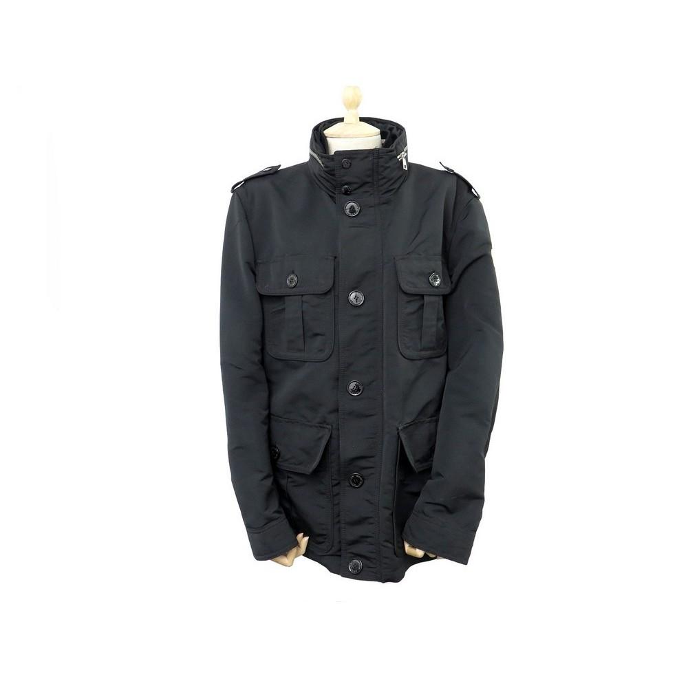 bas prix 5bbb6 c423c blouson moncler chataignier homme t5 m 50 veste noir