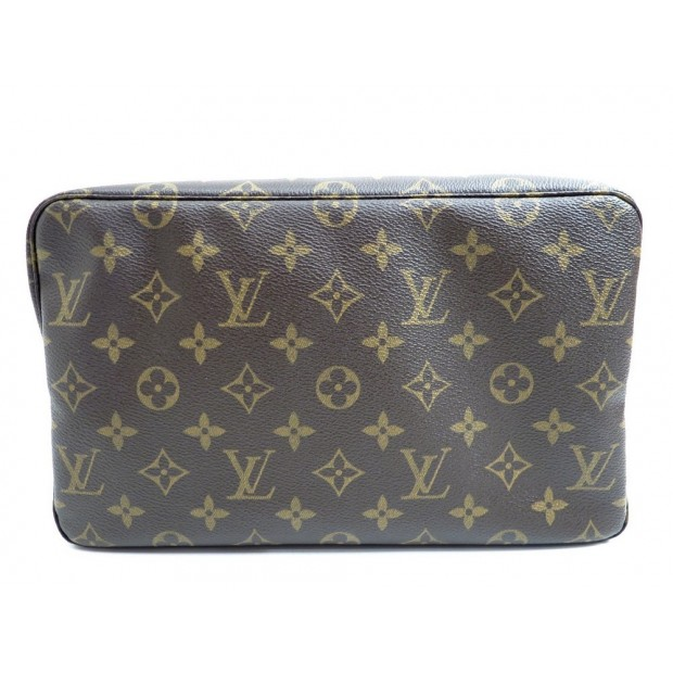 NEUF TROUSSE DE TOILETTE GM LOUIS VUITTON SAC POCHETTE A MAIN MONOGRAM 505€