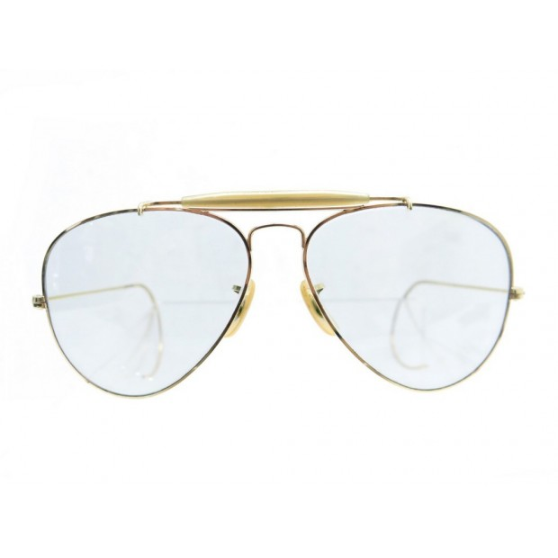 ab3b38272387f VINTAGE PAIRE LUNETTES DE SOLEIL RAY BAN BAUSCH   LOMB B L AVIATOR USA  SUNGLASSE