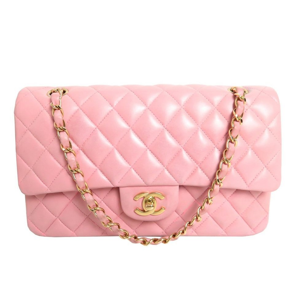 452eeb2be1df SAC A MAIN CHANEL TIMELESS CUIR MATELASSE ROSE. Loading zoom