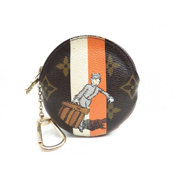 PORTE MONNAIE ROND GROOM LOUIS VUITTON EDITION LIMITEE 2006 COIN PURSE 290€