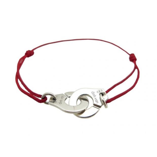 usine authentique 327f4 09c83 bracelet dinh van menottes r12 en argent massif 925