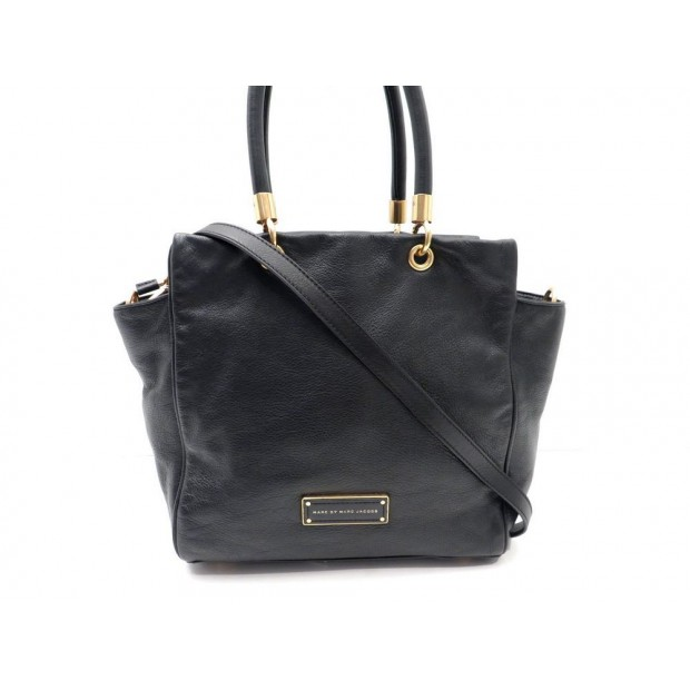 SAC A MAIN MARC BY MARC JACOBS BENTLEY M0001341A BANDOULIERE CUIR NOIR BAG 470€