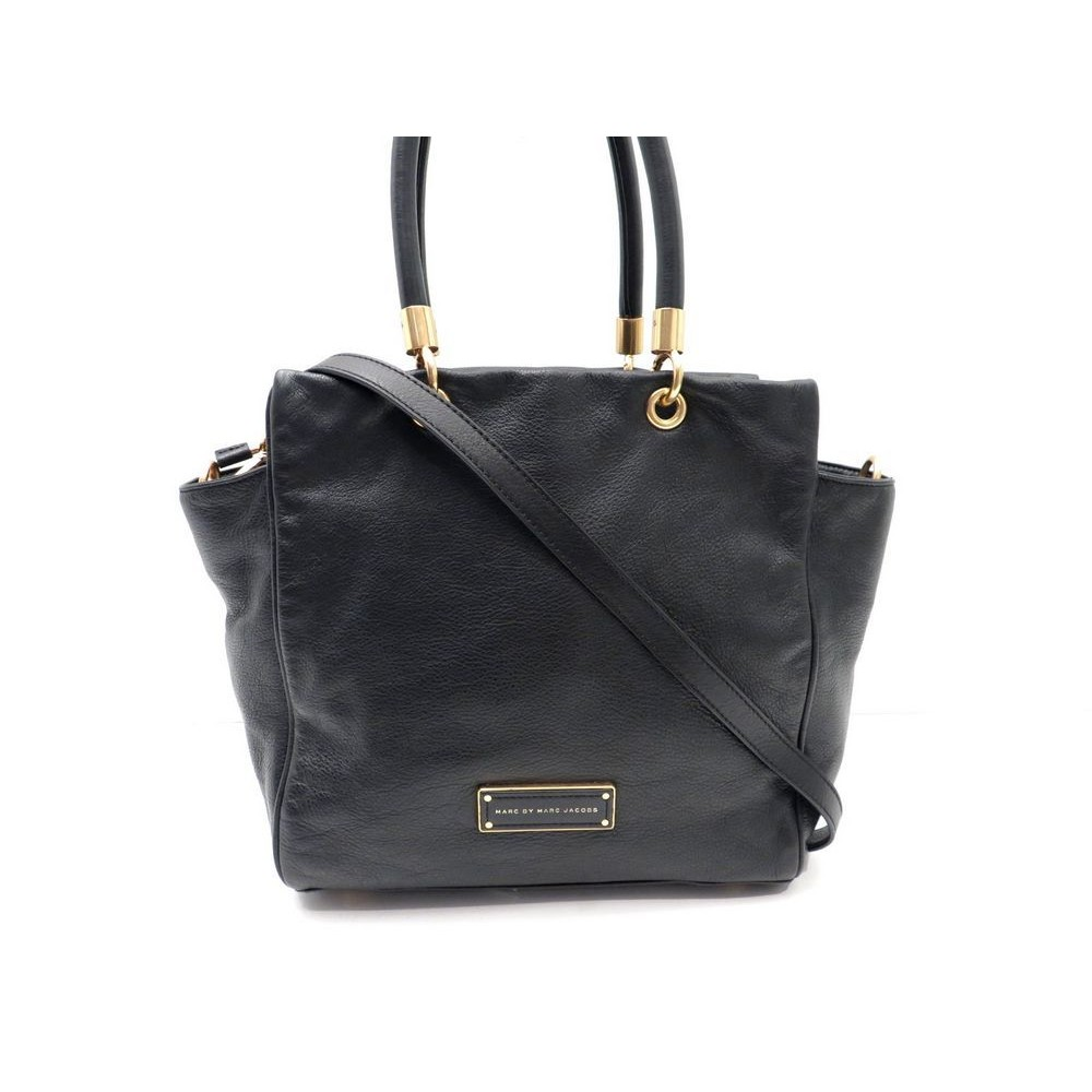 08b6581be24d0 SAC A MAIN MARC BY MARC JACOBS CUIR NOIR. Loading zoom