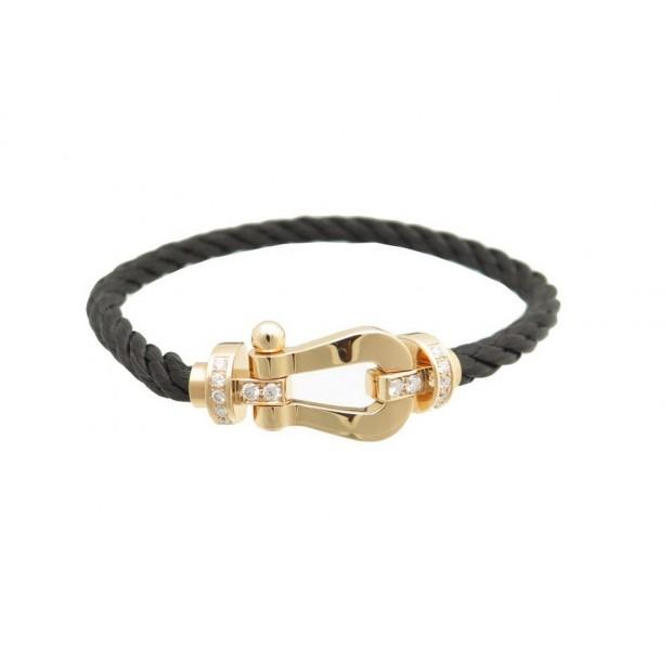 meilleure sélection 5560d 6b1f7 bracelet fred force 10 manille en or rose 18k