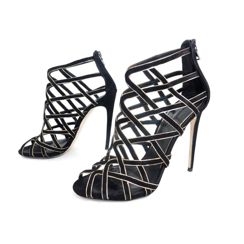 chaussures dolce gabbana c17163 sandales a talons 41