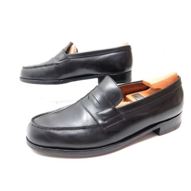 chaussures jm weston 180 6d 40 40.5 mocassins cuir e9bf3b85961