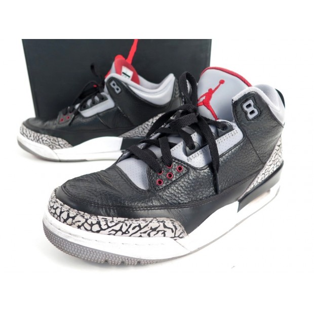 check out 8e2c6 c2aaa chaussures baskets air jordan 3 iii retro 42 42.5
