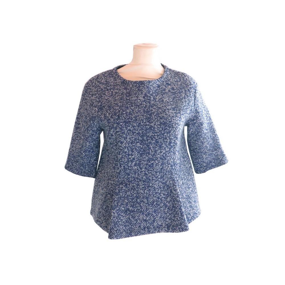 pull christian dior 38 m femme haut en laine bleu 290937d1ba8f