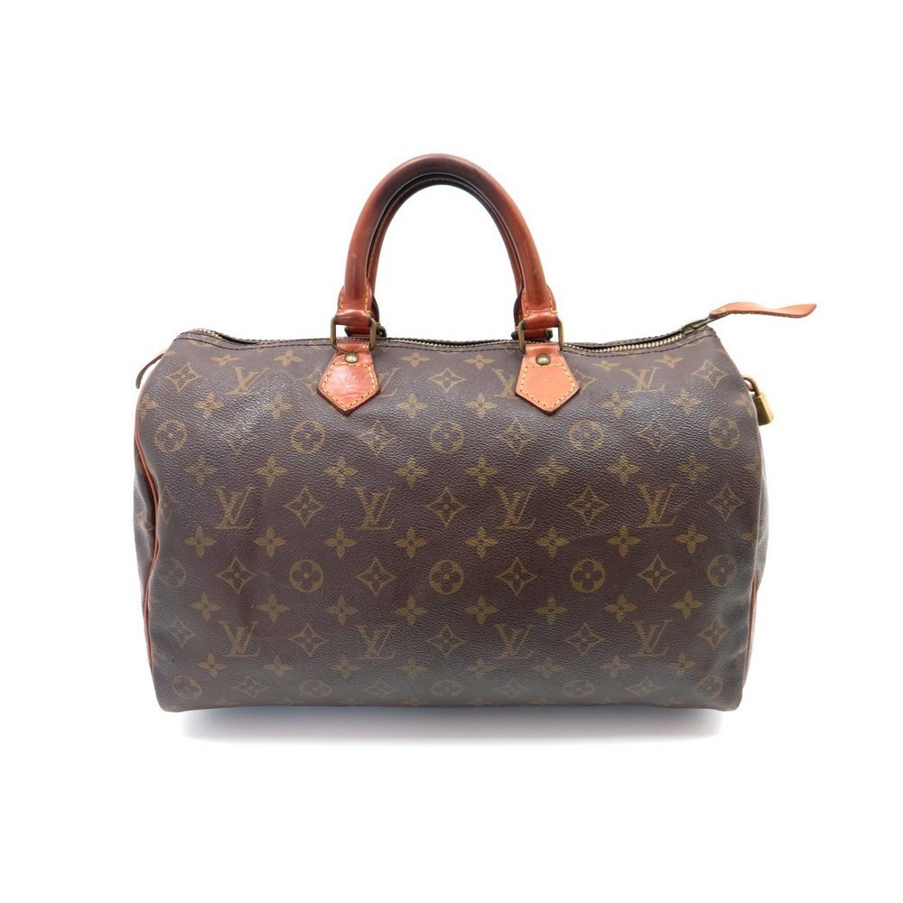 sac a main louis vuitton speedy 35 en toile