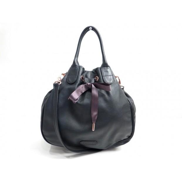 c6a4f8f5d64 Extraordinaire sac a main repetto 31 cm en cuir noir bandouliere  QB 17