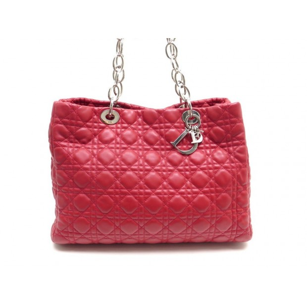 be3d59d0406 sac a main christian dior lady dior souple 36 cm cabas